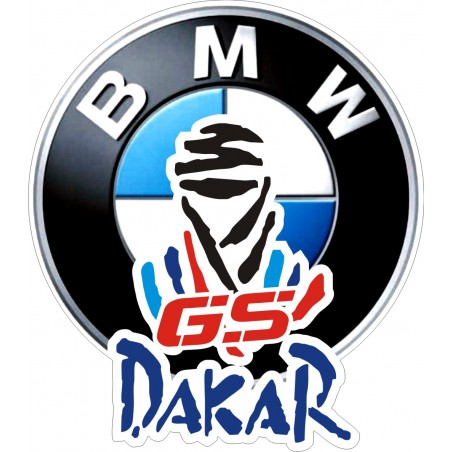 adesivi DAKAR GS stickers BMW MOTORRAD R1200 1150 1100 F800 F700 F650 CDK003