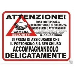 Adesivo PORTONCINO Area...