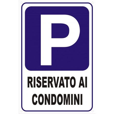 Adesivo Parcheggio in vinile Adesivo