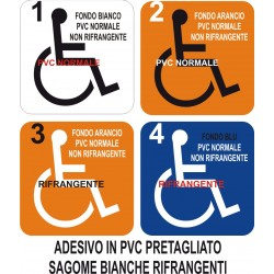 Adesivo logo disabili...