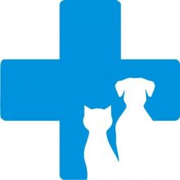 Adesivo Croce Veterinaria...